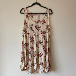 American Eagle Floral Tiered Dress